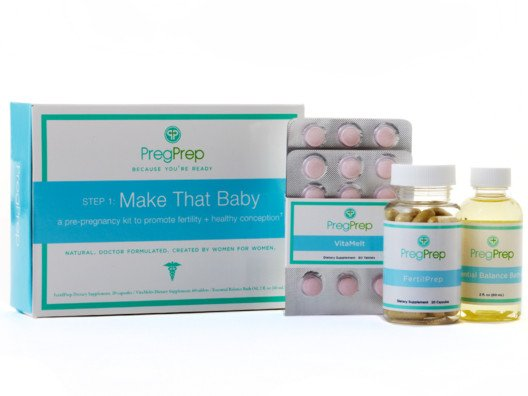 I know from firsthand experience that when you decide you want to have a baby, you don't want to wait! Nudge nature along with the Make That Baby Kit by PregPrep.