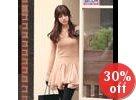 Chiffon-Godet A-Line Dress
