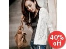 Lace Hooded Jacket