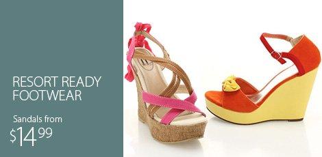 Resort Ready Footwear