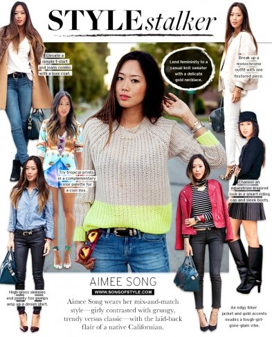Style Stalker: Aimee Song