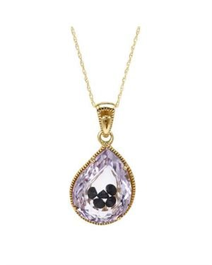 Ladies Necklace Designed In 10K Yellow Gold $109
