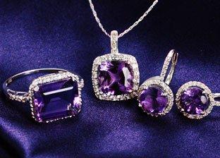 February Birthstone: Amethyst Jewelry
