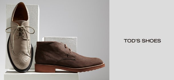 TOD'S SHOES, Event Ends February 9, 9:00 AM PT >