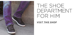The Shoe Department for Him