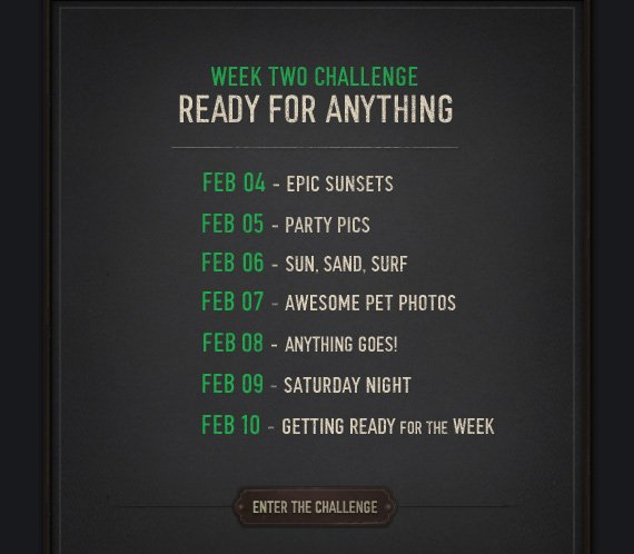 ENTER THE CHALLENGE