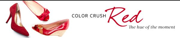 Color Crush Red - The hue of the moment