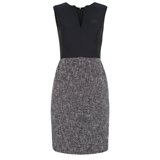 Paul Smith Dresses - Navy Contrast Skirt Dress