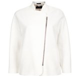Paul Smith Jackets - White Cropped Jacket