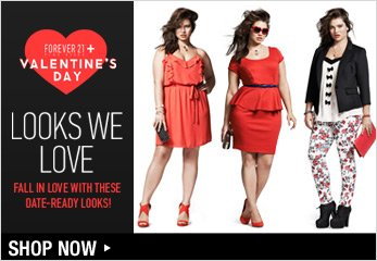 Forever 21 Plus: Valentine's Day Looks We Love - Shop Now