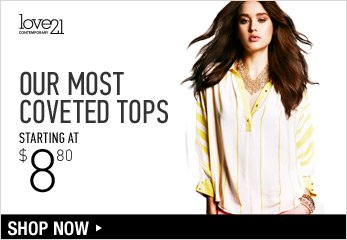 Love 21 Woven Tops - Shop Now