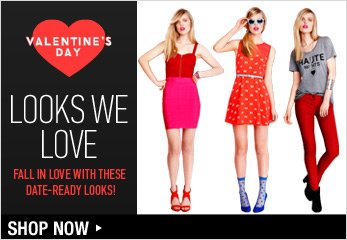What to Wear Valentine's Day - Shop Now