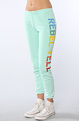 The RY Favorite Slim Sweatpants in Mint