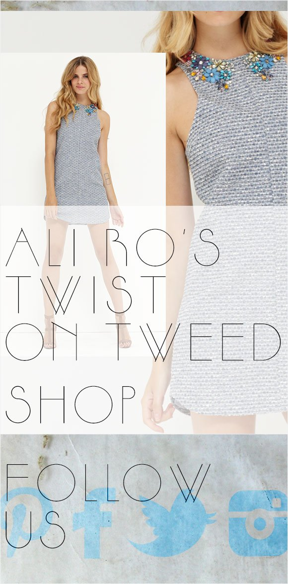 Ali Ro's Twist on Tweed