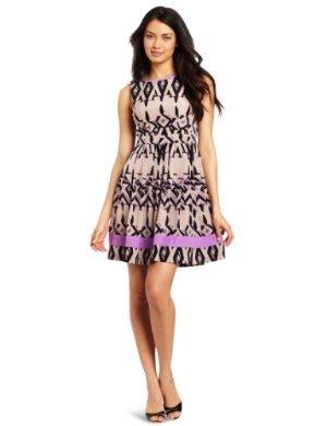 Jessica Simpson<br/>Full Bodice Pleated Dress
