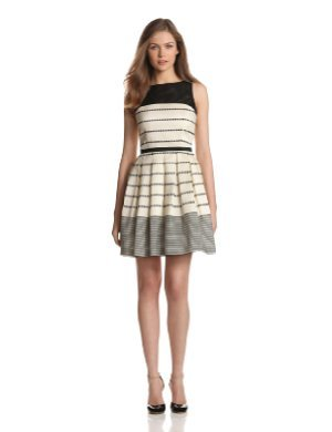 Taylor <br/> Stripe Fit And Flare Dress