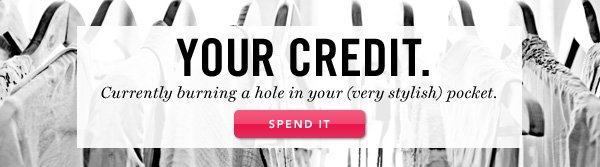Your Credit. Spend It.