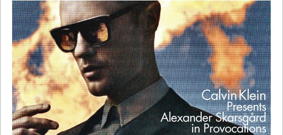 CALVIN KLEIN PRESENTS ALEXANDER SKARSGARD IN PROVOCATIONS