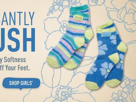 Shop Girls Snuggle Socks