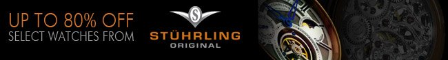 Stuhrling Original - UP TO 80% OFF SELECT WATCHES FROM.