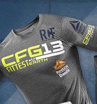 Reebok CrossFit Fittest on Earth Top
