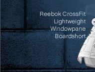 Reebok CrossFit Lightweight Windowpane Boardshort