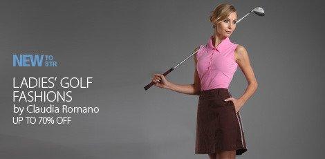 ladies golf fashions bu claudia romano