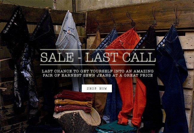 Sale - Last Call