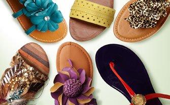 Spring Fever Sandals- Visit Event