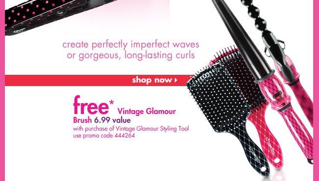 Free* Vintage Glamour Brush