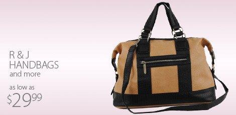 R and J Handbags and More