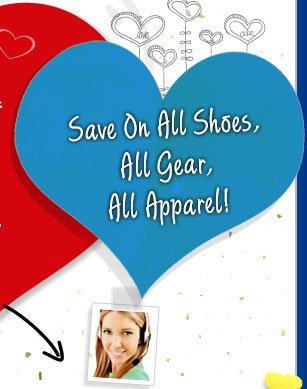 Save on All Shoes, All Gear, All Apparel!