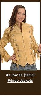 Women's Fringe Jackets
