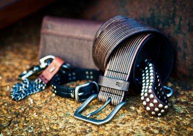 Shop John Varvatos Leatherware ft. Belts
