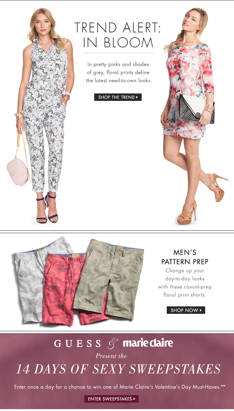 Trending Now: Floral