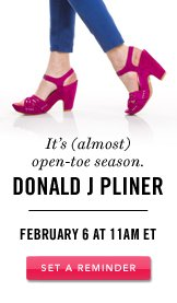 Donald J Pliner. Set A Reminder.