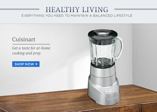 Cuisinart: Get a taste for at-home cooking and prep | Shop Now