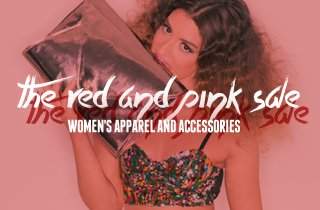 The Red and Pink Sale