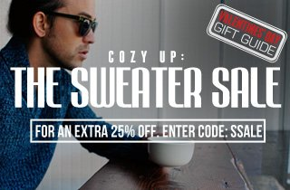 Cozy Up: The Sweater Sale