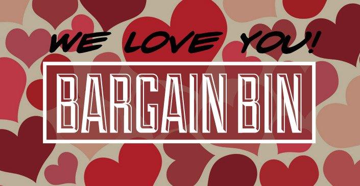 We Love You! Bargain Bin