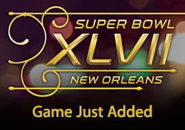 NFL Super Bowl XLVII - Game Just Added