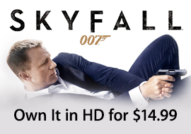 Skyfall - Own It in HD for $14.99