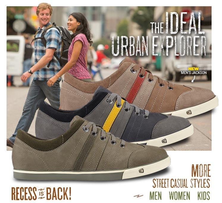 The Ideal Urban Explorer.