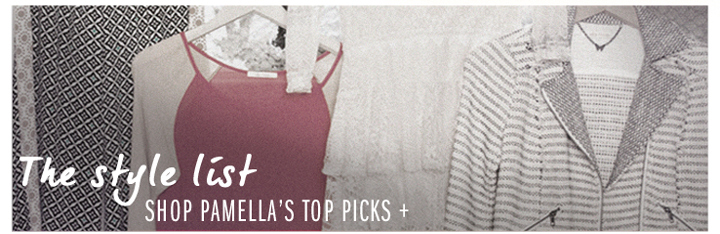 Shop Pamella's Top Picks