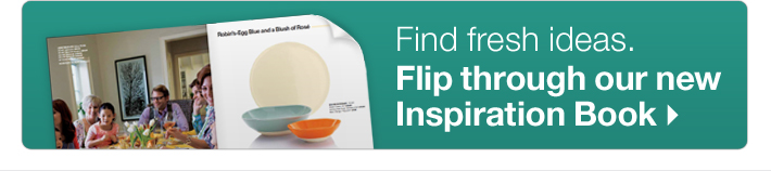 Find fresh ideas: Flip through our new  Inspiration Book