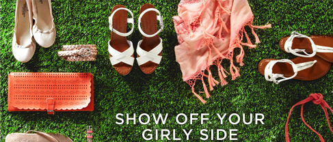 Show Off Your Girly Side