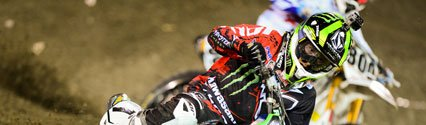 Ryan Villopoto Claims First Supercross Victory at Anaheim 2, Eli Tomac Continues Lights Domination