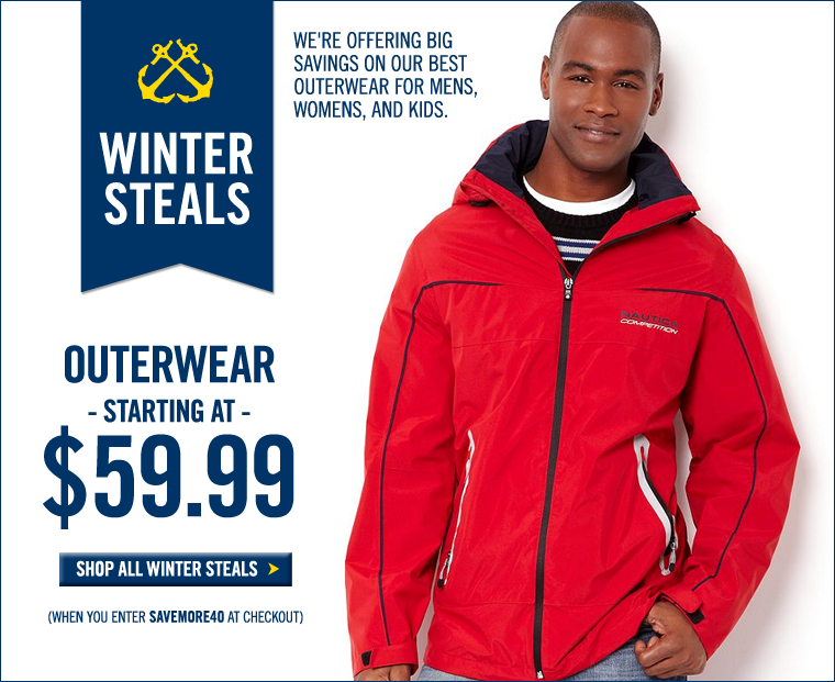 WINTER STEALS! SCORE BIG with select styles starting at $19.99!