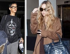 WHAT THEY WEAR: Airports