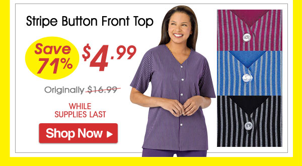 Stirpe button Front Top - Save 71% - Now Only $4.99 Limited Time Offer
